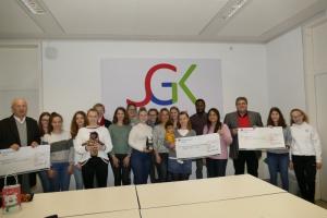 Spendenübergabe Siebenpfeiffer-Gymnasium Kusel